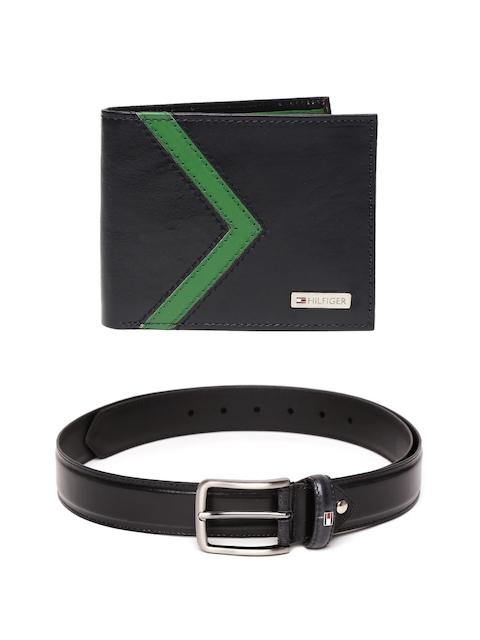 Tommy Hilfiger Men Leather Belt & Wallet