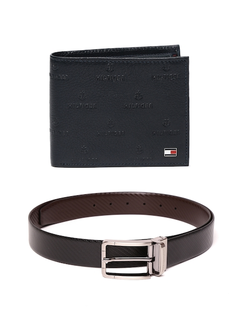 Tommy Hilfiger Men Leather Belt & Wallet