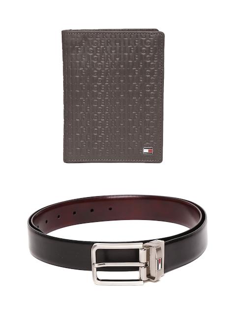 Tommy Hilfiger Men Leather Wallet & Belt