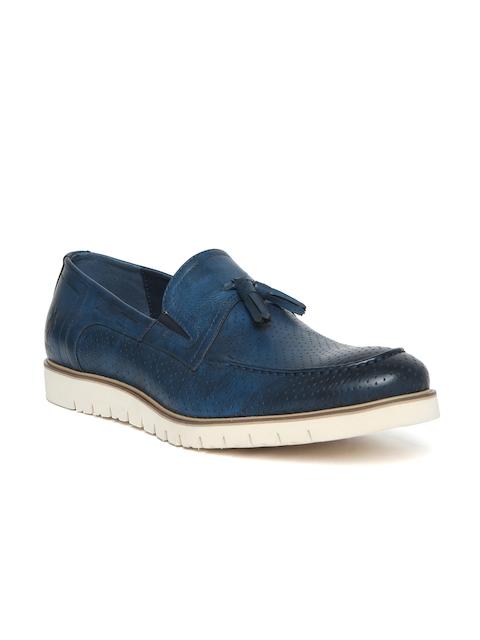 U.S. Polo Assn. Men Navy Blue Tassel Loafers