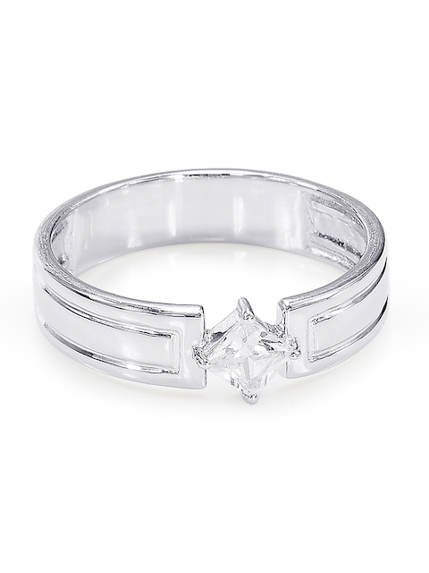 Peora Men Silver-Plated Ring