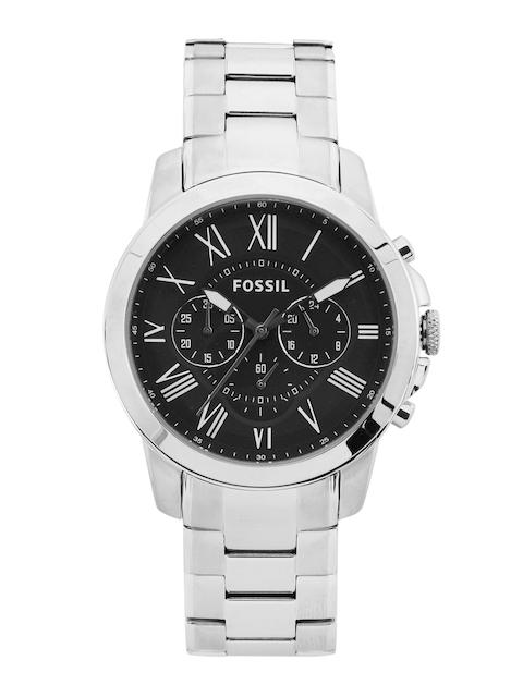 Fossil Men Black Dial Watch FS4736