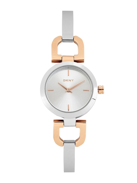 DKNY Women Steel-Toned Dial Watch NY2137