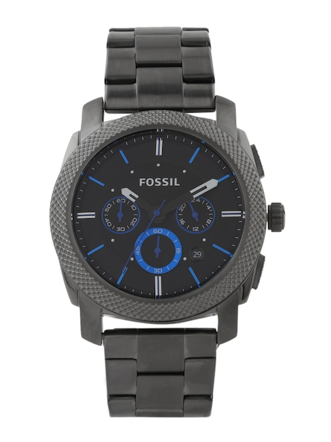 Fossil Men Black Dial Watch FS4931I