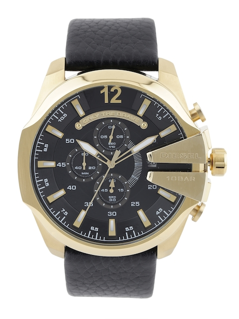 DIESEL Men Black Chronograph Watch DZ4344