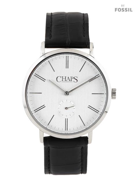 CHAPS DUNHAM Men Silver-Toned Dial Watch CHP5007