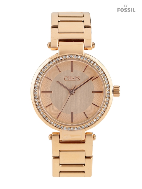 CHAPS NOT ASSIGN Women Copper-Toned Dial Watch CHP3011
