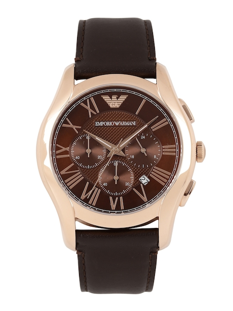 Emporio Armani Men Brown Dial Chronograph Watch AR1701