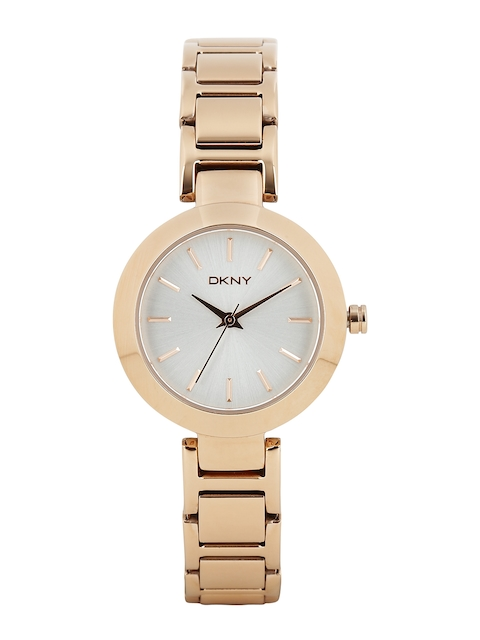 DKNY Women Silver-Toned Dial Watch NY2400