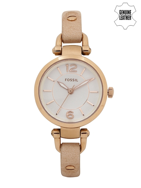Fossil Women White Analogue Watch ES3745