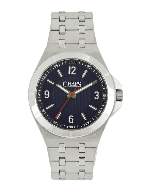 CHAPS CROCKETT Men Navy Textured Dial Watch CHP7012