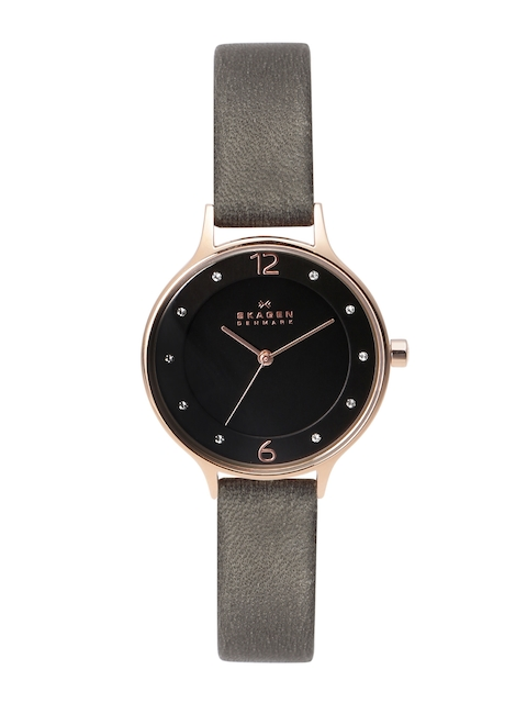 SKAGEN Women Black Dial Watch SKW2267