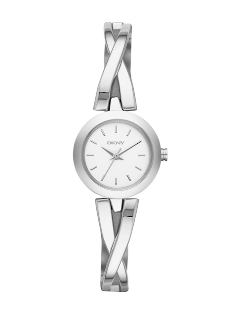 DKNY Women Silver-Toned Analogue Watch NY2169