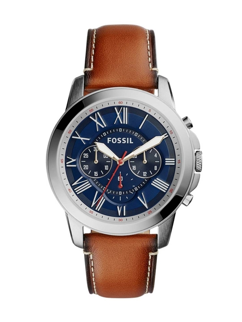 Fossil Men Navy Chronograph Watch FS5210