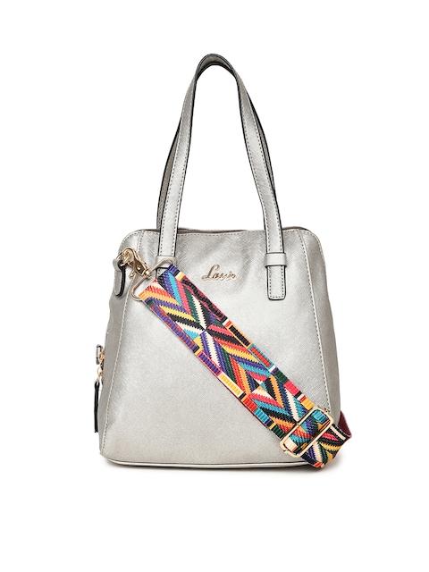 Lavie Silver-Toned Solid Shoulder Bag