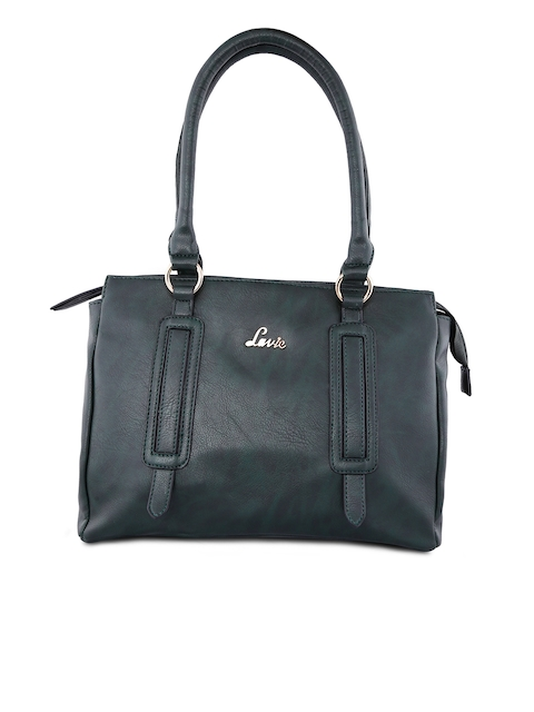 Lavie Black Solid Satchel