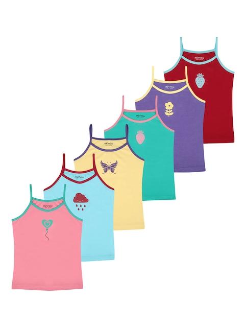 minnow Girls Pack of 6 Camisole MK-CAMISOLES-CP6