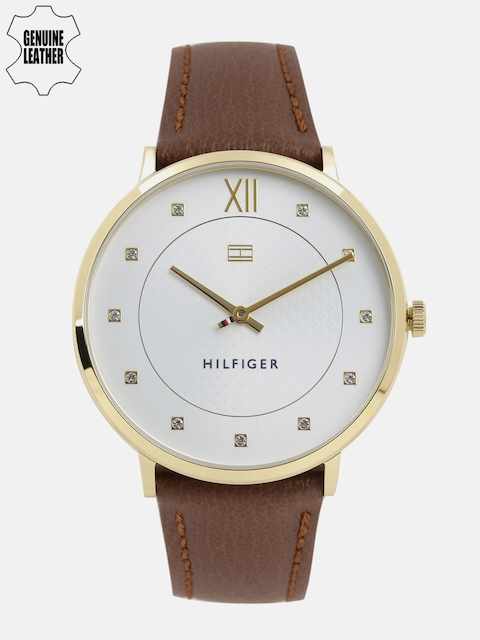 Tommy Hilfiger Men White Embellished Analogue Watch NTH1781809_BBD