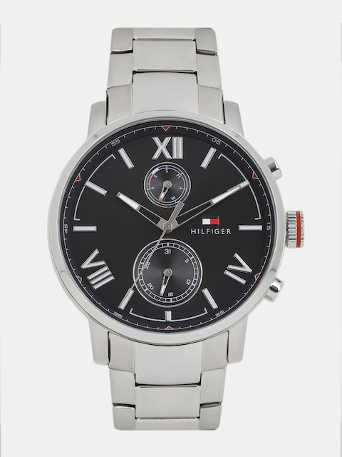 Tommy Hilfiger Men Black Analogue Watch NTH1791307