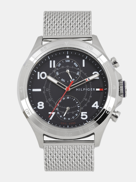 Tommy Hilfiger Men Black Multifunction Analogue Watch NTH1791342_BBD