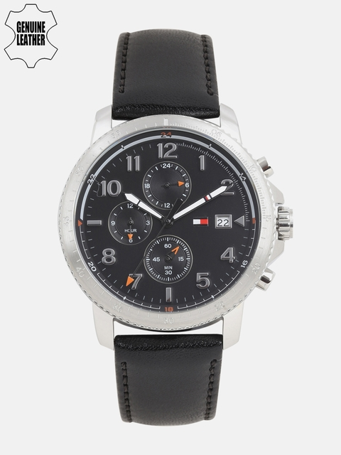 Tommy Hilfiger Men Black Analogue Watch NTH1791364_BBD