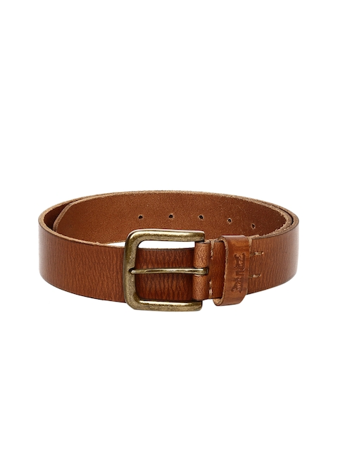Levis Men Brown Textured Belt