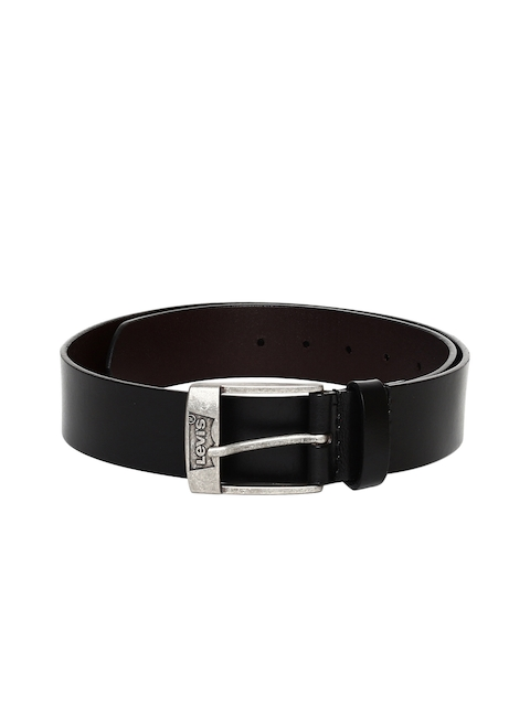 Levis Men Black Solid Belt