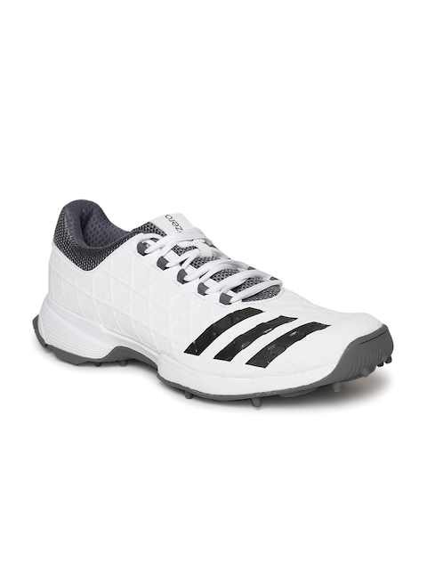 Adidas Men White SL 22 Cricket Shoes
