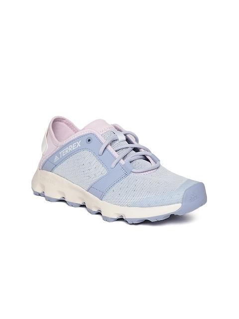 Adidas Women Blue TERREX CC Voyager Sleek Hiking Shoes