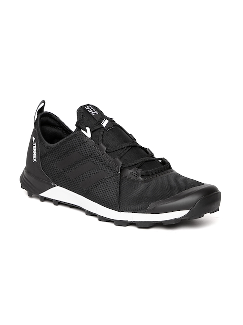 Adidas Men Black Terrex Agravic Speed Running Shoes