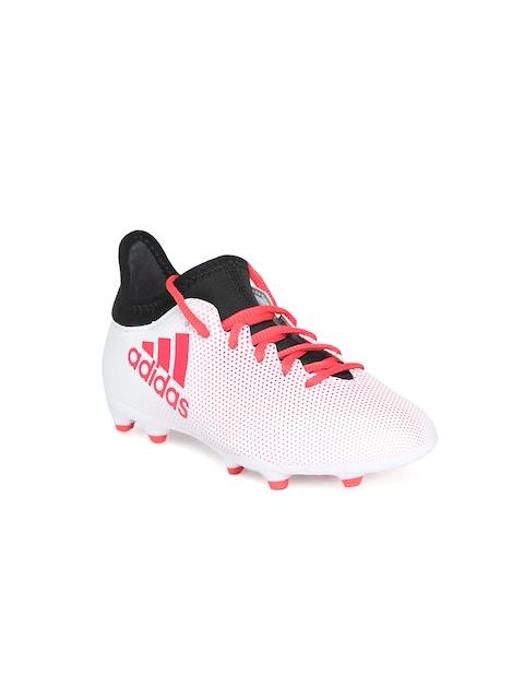 Adidas Boys White X 17.3 FG Football Shoes