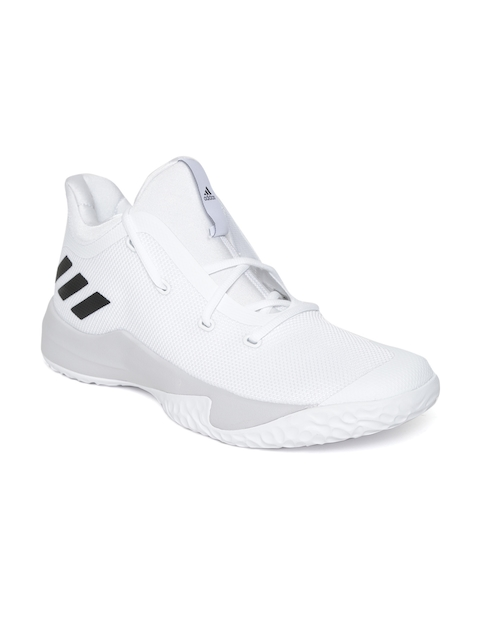 Adidas Men White Rise Up 2 Basketball Shoes