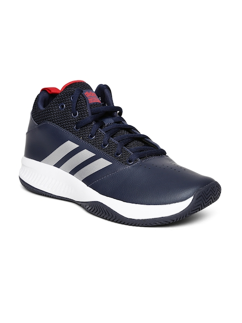 Adidas Men Navy Ilation 2.0 Basketball Shoes