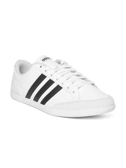 Adidas Men White Caflaire Tennis Shoes