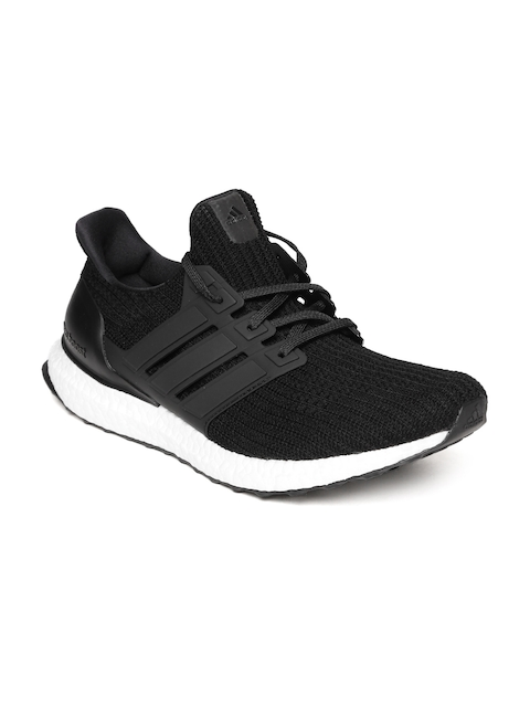 Adidas Men Black Ultraboost Running Shoes
