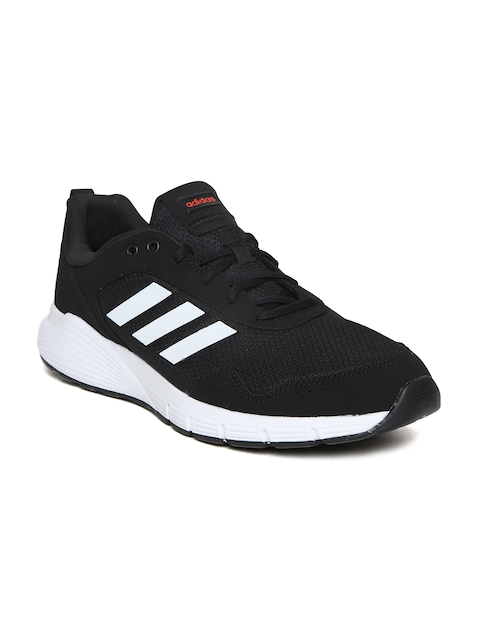 Adidas Men Black FluidCloud Neutral Running Shoes