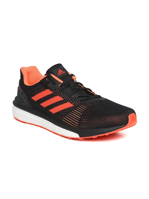 Adidas Men Black RESPONSE ST Running Shoes