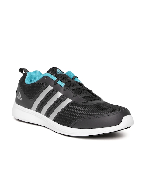 Adidas Men Black Yking Running Shoes