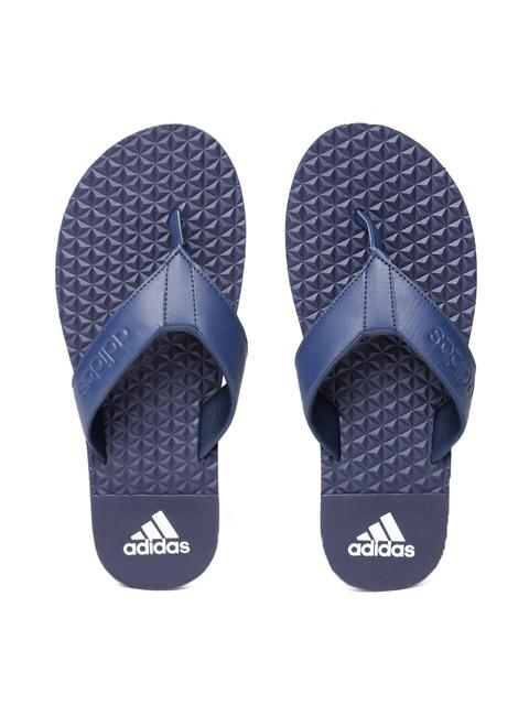 Adidas Men Navy JIB Solid Thong Flip-Flops