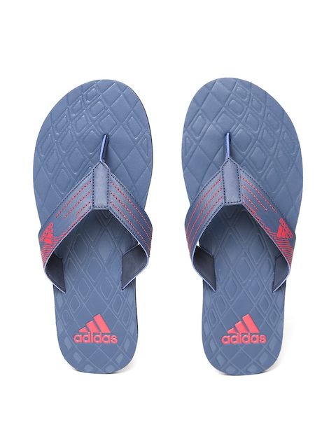 ADIDAS Men Navy GADI Self-Design Thong Flip-Flops
