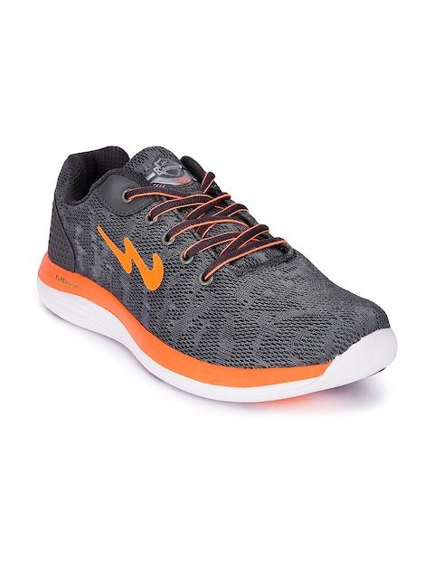 Campus Men Zeal Grey Running Shoes