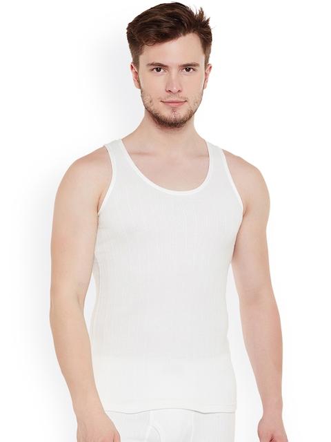 NEVA Men Off-White Thermal Top