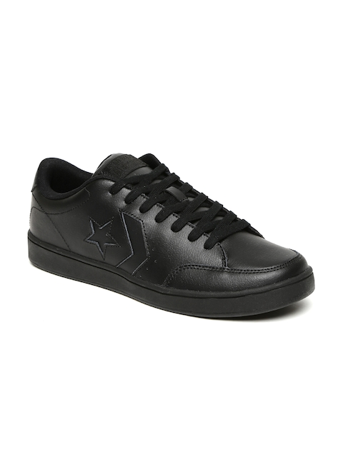 Converse Men Black Sneakers