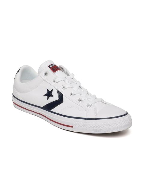 Converse Men White Sneakers