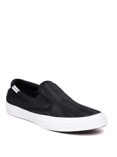 Converse Men Black Slip-on Sneakers