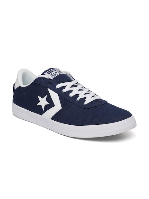 Converse Men Navy Blue Sneakers