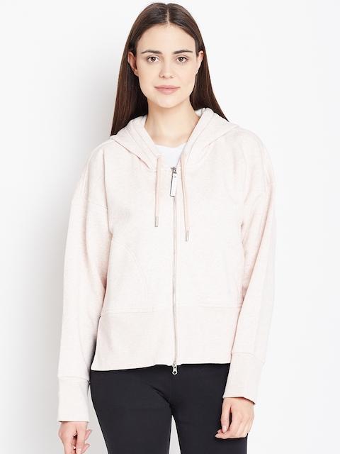 Stella McCartney by Adidas Pink Essential Hooded Sweatshirt