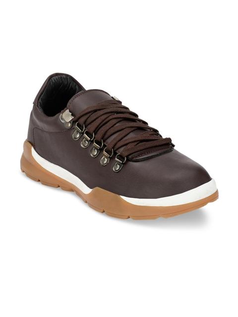 Guava Men Brown Flat Boots