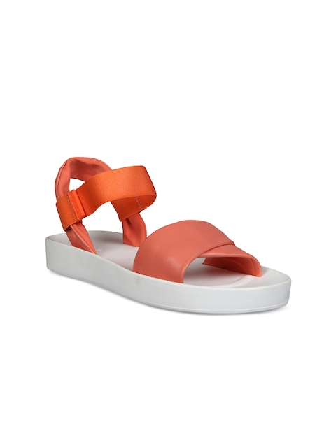 Clarks Women Coral Comfort Leather Sandals
