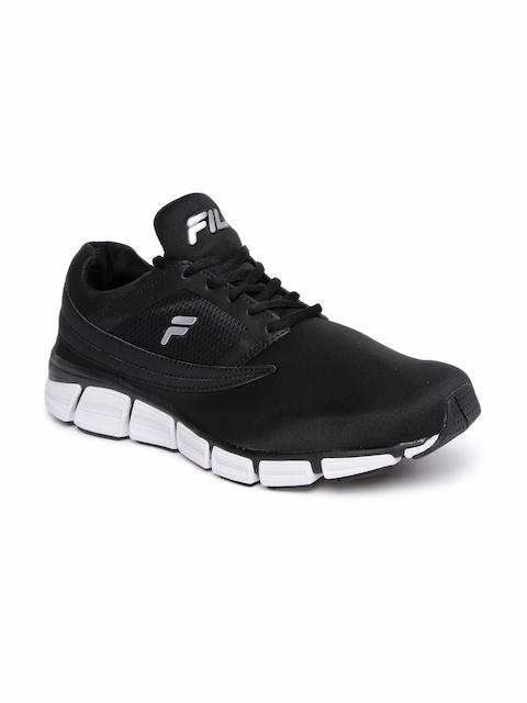 FILA Men Black QUANTAUM Energized Running Shoes